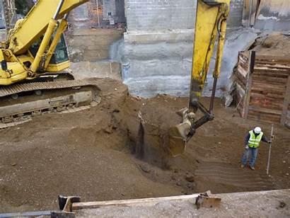 Excavation Foundation Depth Checking During Deep Civil