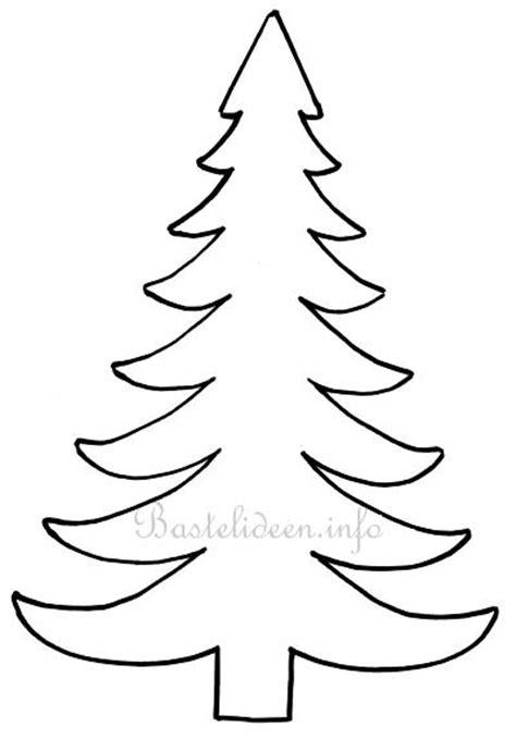 weihnachtsbasteln weihnachtsbaum bastelvorlage