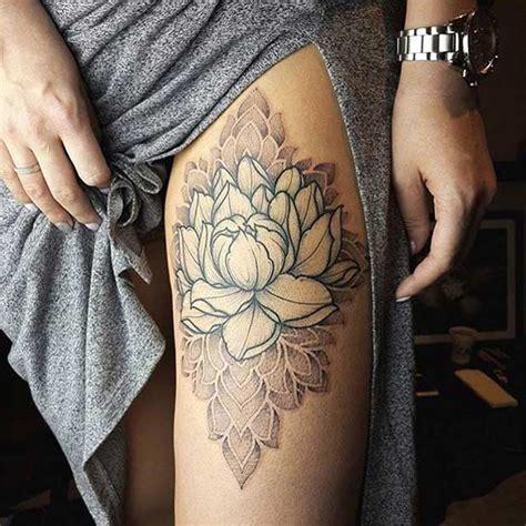 badass thigh tattoo ideas  women stayglam