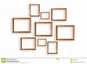 Ensemble Cadre Photo : ensemble de cadres de tableau sur le fond blanc image stock image 43606033 ~ Teatrodelosmanantiales.com Idées de Décoration