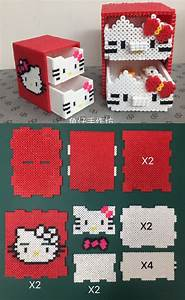 Bügelperlen Kreative Ideen : hello kitty b gelperlen pinterest perler beads beads und hama beads ~ Orissabook.com Haus und Dekorationen