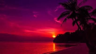 1080p Wallpapers Sunset Beach