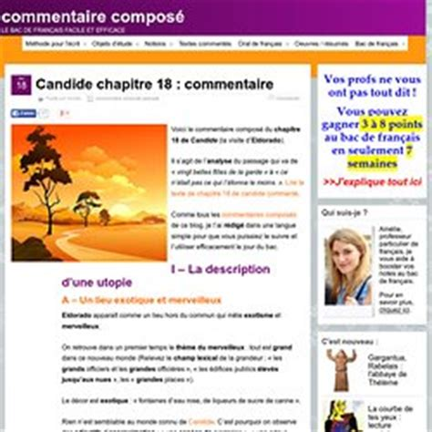 Commentaire Compose Resume Candide by Candide Ib A Pearltrees