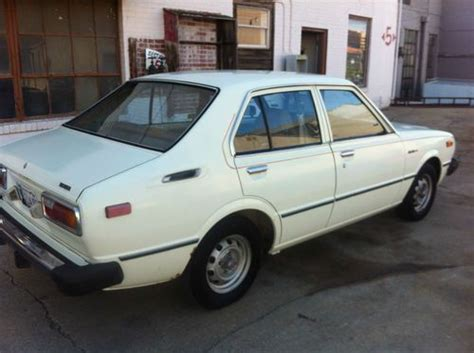 Buy Used 1979 Toyota Corolla Custom Sedan 4-door 1.2l In