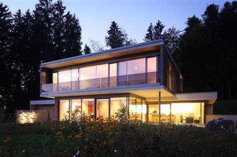 Modernes Haus by Modernes Luftiges Haus Zeigt Stil