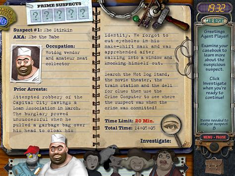 Mystery Case Files Prime Suspects ™ > Ipad, Iphone