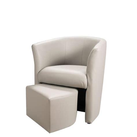 fauteuil cabriolet avec pouf baya fauteuil cabriolet gris clair pouf achat vente fauteuil rev 234 tement 94 pvc 6