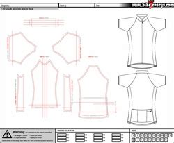 Custom Cycling Jersey Template by Bicycle Jerseys S Custom