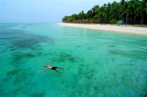 pulau ketawai bangka pulau terbaik  camping