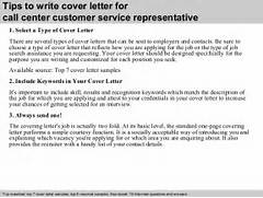 Sample Resume Cover Letter Customer Service Representative Call Center Service Representative Cover Letter Examples Customer Service Cover Experience As A Written Fl Cover Geared To Or Service Position As A Cover Letter Customer Service Call Center Within Call Center Cover