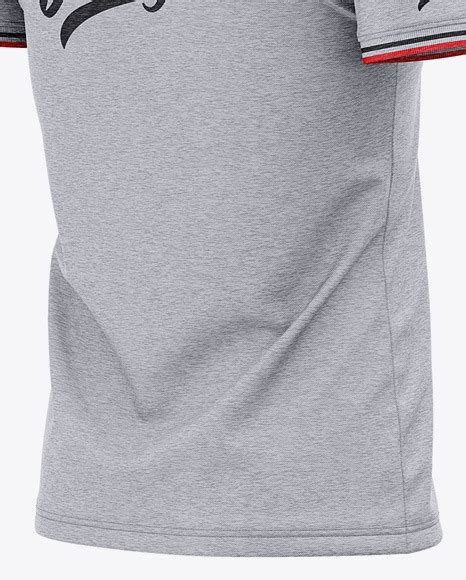 Very simple edit with smart layers. Download Mens Club Polo Shirt Mockup Back Half Side View ...