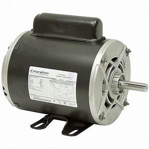 1 Hp 3450 Rpm 115  230 Vac Air Compressor Motor