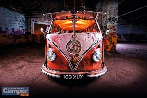 bus rusty vw volkswagen camper wagon