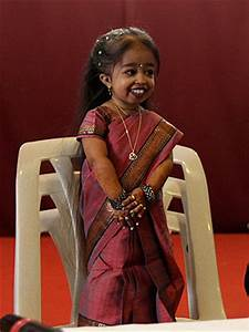 Guinness World Records' World's Shortest Woman: Jyoti Amge