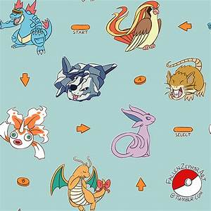 Twitch Plays Pokemon Crystal Pattern — Weasyl