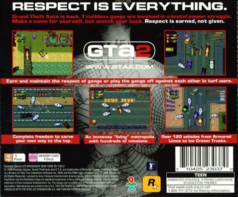 Grand Theft Auto 2 (2000) Dreamcast Box Cover Art