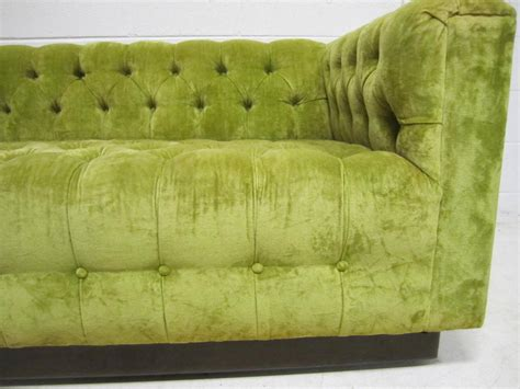 chesterfield sofa mid century modern awesome dunbar style chesterfield tufted sofa mid century