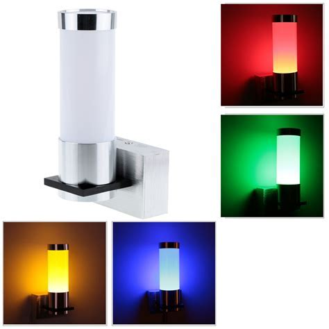 1W Modern Simple LED Wall Light Sconce Lamp Indoor Bedroom