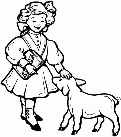 Nursery Rhymes Coloring Pages Mother Goose Printable