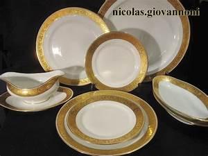 Service De Table Porcelaine : service de table de limoges ~ Teatrodelosmanantiales.com Idées de Décoration