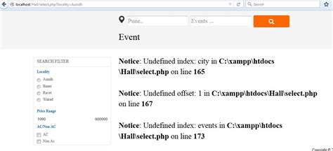 javascript ajax filter php mysql results using checkboxes or radio button same page stack