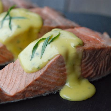 poached salmon   fail hollandaise recipe andrew