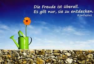 freude sprüche die freude ist überall www spruechetante de