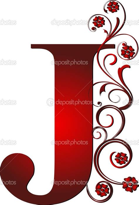 fancy letter  clipart moldes de letras letras de flores letras  nombres