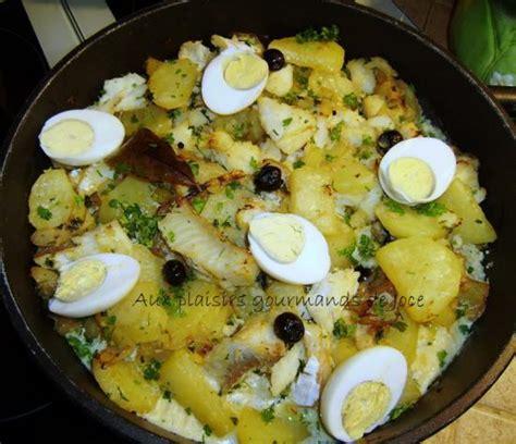 morue sal 233 e aux pommes de terre et aux oeufs portugal