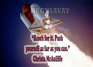 Christa McAuliffe Quotes With Pictures