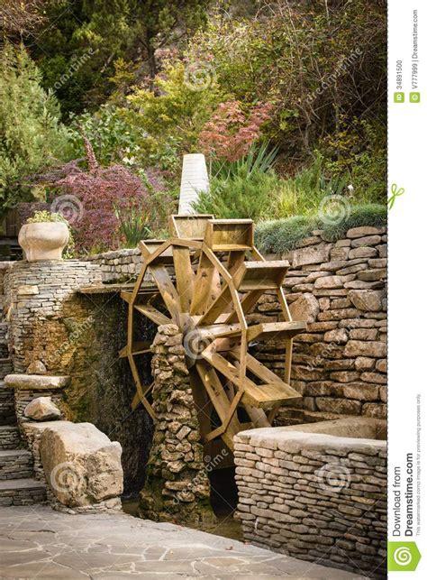 water wheel stock photo image