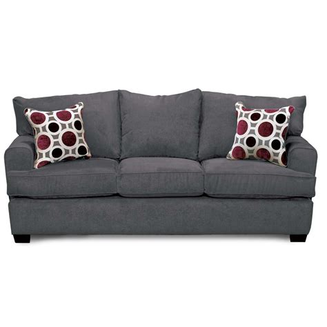 casual contemporary sterling gray sofa city rc willey