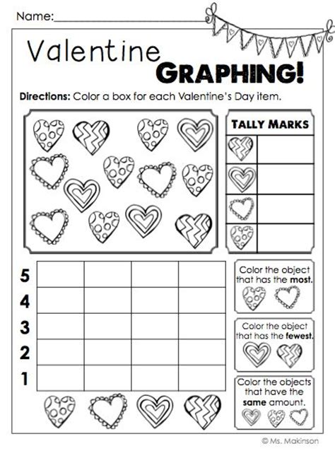 valentine math worksheets for 1st grade 1000 ideas about first grade measurement on pinterest