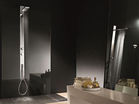 fantini rubinetti wall mounted multifunction shower panel acquatonica by