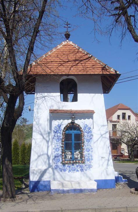 grandma paints houses   czech village  louka