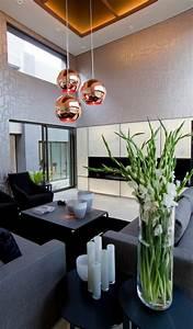 Suspension Noir Et Cuivre : la suspension cuivre un beau accent pour chaque ~ Melissatoandfro.com Idées de Décoration