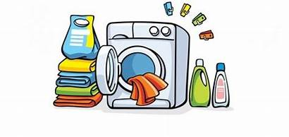 Washing Machine Laundry Clipart Vector Washer Clothes