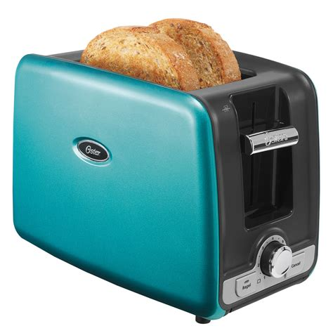 Toaster Oven Teal by Oster 174 2 Slice Retractable Cord Toaster At Oster