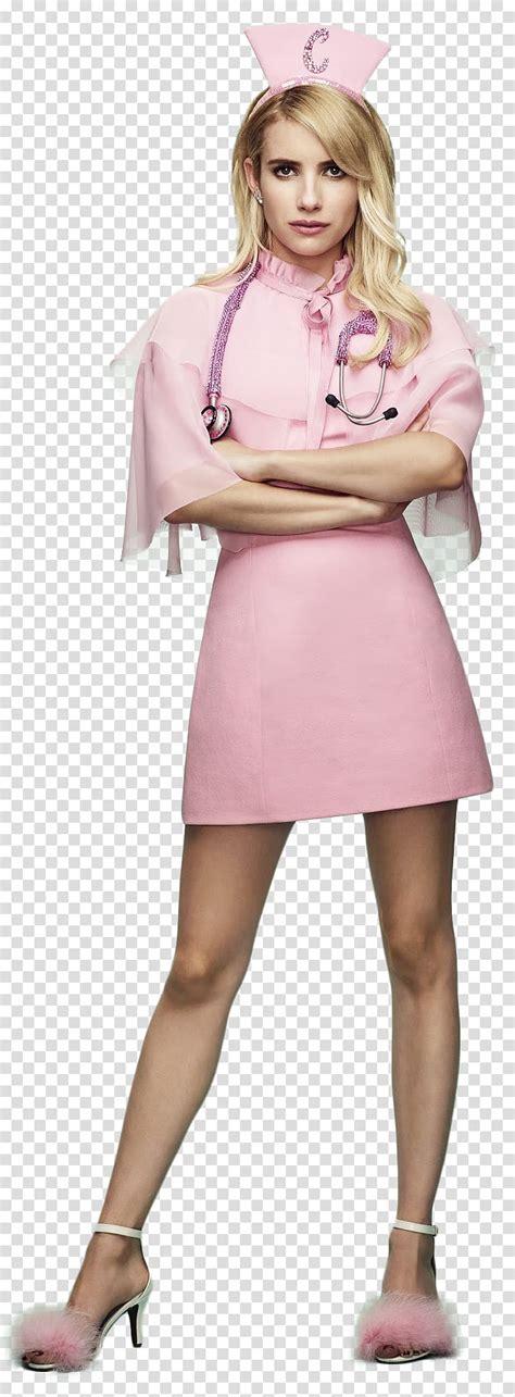 Scream Queens Emma Roberts as Chanel Oberl transparent ...