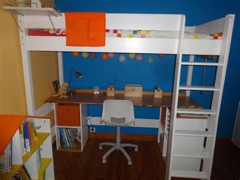 meuble de bureau design bureau pour lit mezzanine clay