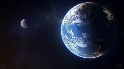 Moon Earth Planet 4k 8k Wallpapers