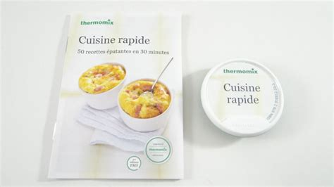 vorwerk cuisine recettes thermomix tm5 rapide