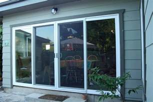 Milgard Patio Doors Home Depot by Patio Door 4 Panel Sliding Patio Door