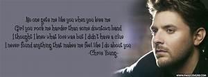 Chris Young You Lyrics Facebook Cover | C Young 2 ...