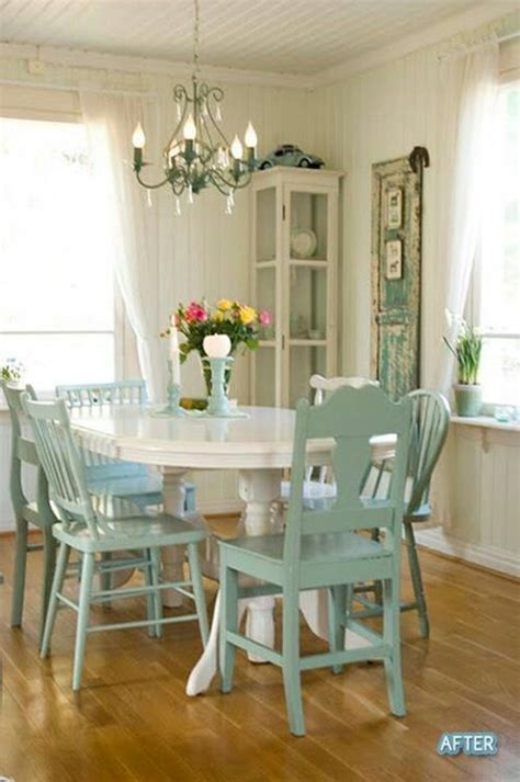 mismatched chairs dining table for the home