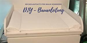 Malm Als Wickelkommode : diy wickelaufsatz f r ikea malm so einfach geht 39 s diy meer ~ Markanthonyermac.com Haus und Dekorationen