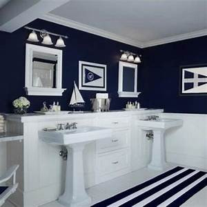 30 modern bathroom decor ideas blue bathroom colors and for Bathroom theme ideas