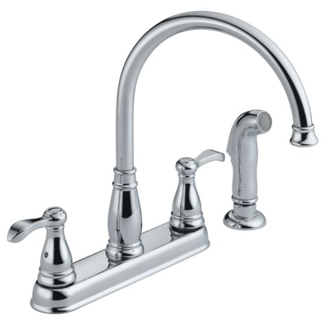 Peerless Kitchen Faucet Parts by P99500 Ss Two Handle Kitchen Faucet