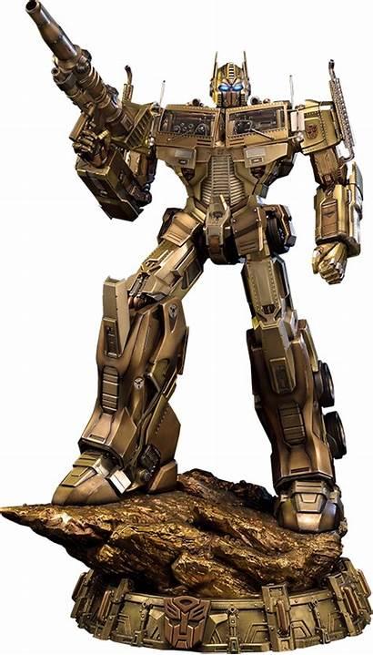Transformers Gold Prime Optimus Generation Version Sideshow