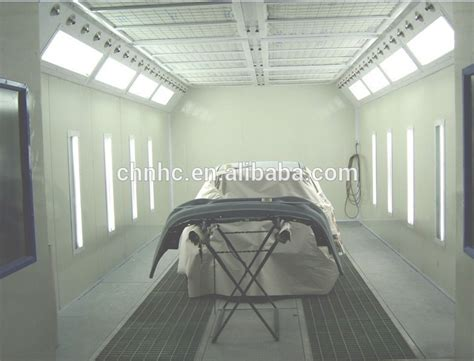 auto water curtain paint oven spray painting booth hc620s